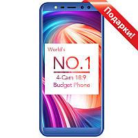 "➤Смартфон 5.5"" LEAGOO M9 2/16GB Blue камера 8 Мп 2850 mAh Gorilla Glass 3 Android 7.0 сканер пальца"