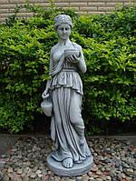 Садовая фигура Дама с кувшином 29.5x27x85cm