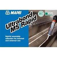 """Быстротвердеющий монтажный клей с """" эффектом присоски """" Ultrabond MS Rapid .300 мл. Mapei"""