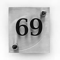 Номерок на утримувачах для дверей, фото 3