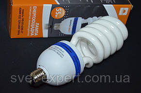 Энергосберегающая  лампа КЛЛ HS-55-4200-27 55W 4200K E27 220V , фото 2