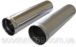 Труба нержавеющая ø100 1 метр 0,5 мм