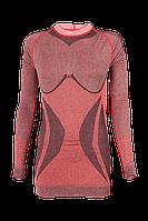 Женская термокофта с шерстью альпаки HASTER ALPACA WOOL зональное бесшовное шерстяное термобелье