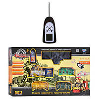Железная дорога 0622/40353 (8шт) р/у,в коробке, 70-44-10см, детская ЖД, игрушка