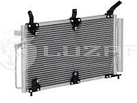 Радиатор  кондиционера с ресивером Калина (PANASONIC) (LRAC 0118)
