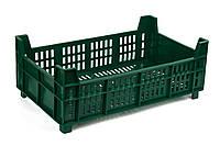 Ящик пластиковый 500х300х190 110, 15кг (2 сорт), (цветной), исп. VI, фото 1