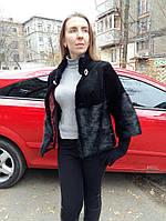 Куртка женская, из стриженой нутрии