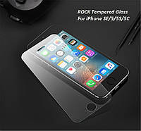 Защитное стекло ROCK Tempered Glass для iPhone 5, 5S, 5C, SE