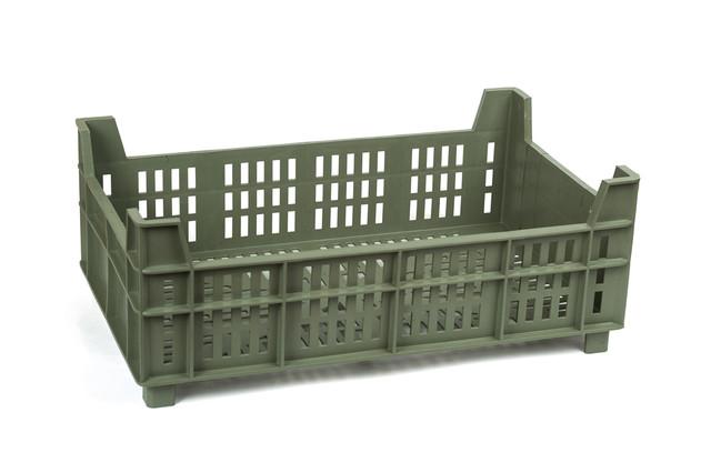 Ящик пластиковый 500х300х190 110, 15кг (2 сорт), исп. VI