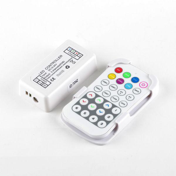 RGB-контроллер RF радио 12А (28 кнопок на пульте)