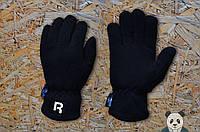 Флисовые зимние мужские перчатки рибок/Reebok реплика