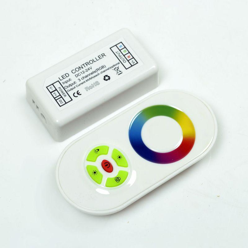 RGB-контроллер радио 18A (сенсорный пульт) White