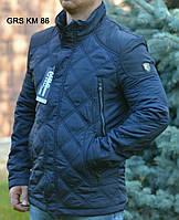 Мужская стильная весенняя стеганая куртка