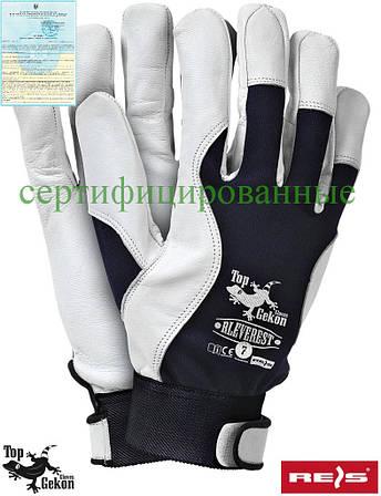 Перчатки из высококачественной кожи REIS Польша RLEVEREST GW