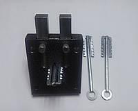 Замок гаражный Чернигов Обратный ход  2-х  ригельный с направляющей крючок, фото 1
