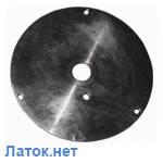 План-шайба для рихтовки дисков автомобиля Таврия к дископравильному станку Сириус