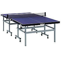 JOOLA World Cup Comp Indoor Table Tennis Table - Blue