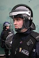 Противоударный защитный шлем с забралом Argus APH 05-07 (черный). Police Великобритании, оригинал.