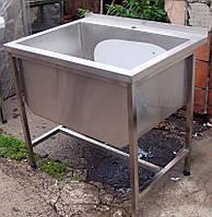 Ванна моечная 1-но секционная 600*600*850мм