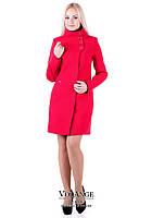 Модное и стильное женского кашемировое пальтоV-g Паула красное