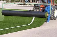 Монтаж укладка искусственной травы