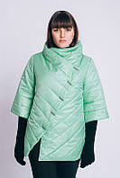 Куртка женская стильная большого размера весенняя р. 54-66