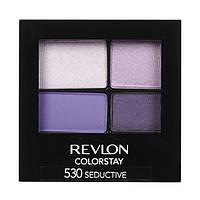 Стойкие 16-ти часовые тени для век Revlon Color Stay 16 Hour Eye Shadow Quad 530 seductive