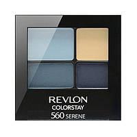 Стойкие 16-ти часовые тени для век Revlon Color Stay 16 Hour Eye Shadow Quad 560 serene