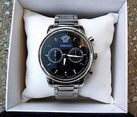 Наручные часы Versace серебро, магазин мужских часов