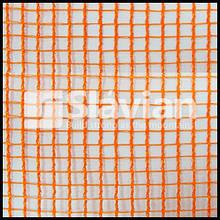 Захисна сітка PKLS-110 1,9x50, осередок 7х7мм, ПЕНДЕ (HDPE) оранжева