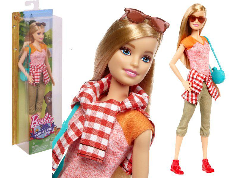 Barbie - Барбі  Camping Fun Barbie Doll (Барби, серия Кемпинг)
