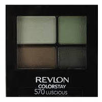 Стойкие 16-ти часовые тени для век Revlon Color Stay 16 Hour Eye Shadow Quad 570 luscious