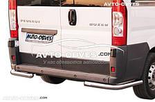 Защита заднего бампера Fiat Ducato 2006-2014, углы одинарные, кор (L1) / сред (L2) / длин (L3) базы