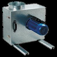 Кухонный вентилятор в шумоизолированном корпусе производительностью до 730 м³/ч. вентс КСК 160 4Д