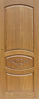 Двери межкомнатные из натурального дерева (ясень) Без стекла , 2000х700мм, Орех