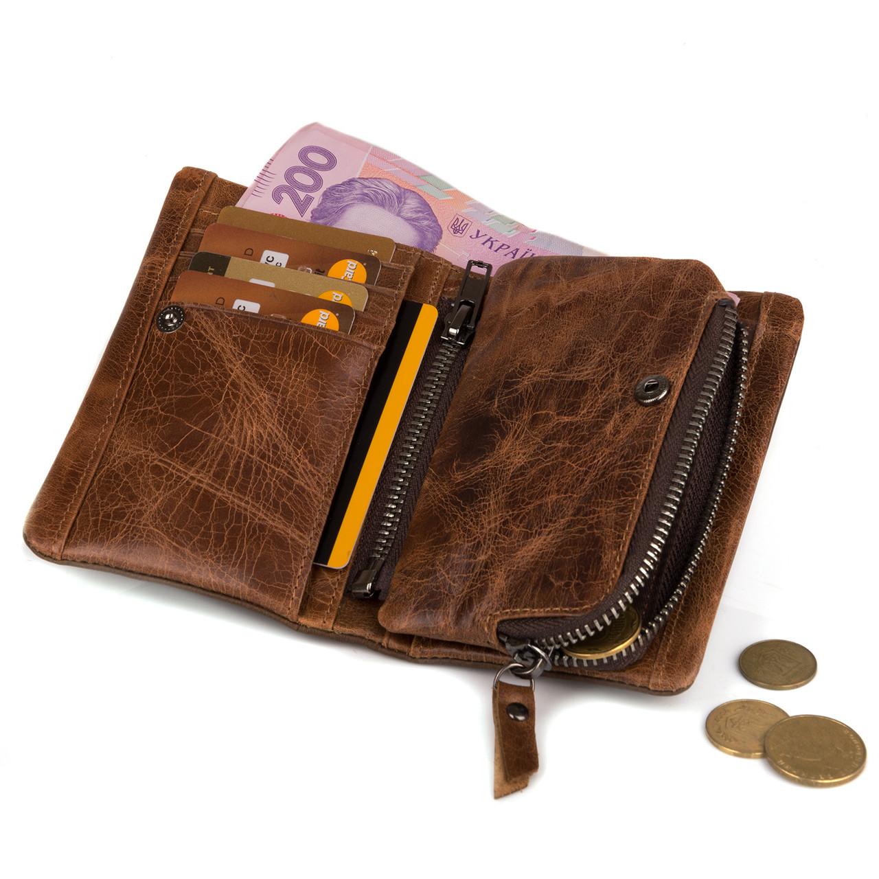 Оригинальный кожаный кошелек мужской Esiposs E220-2C