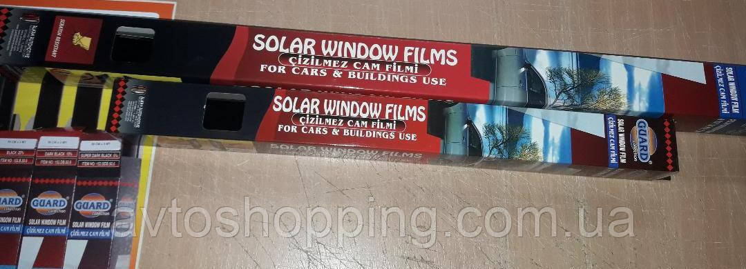 Тонувальна плівка Guard 50 см 3 метри,5% плівка для тонування стекол. Антицарапка