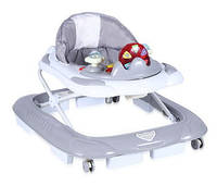 Ходунки Bertoni  BABY WALKER SCHOOL GREY