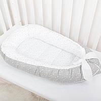 """Гнёздышко для новорожденных со съёмным чехлом """"Звездная пыль"""", фото 1"""