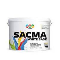 Краска интерьерная для внутренних работ SACMA WHITE BASE 3 л