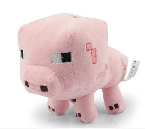 Игрушка свинья из Майнкрафт