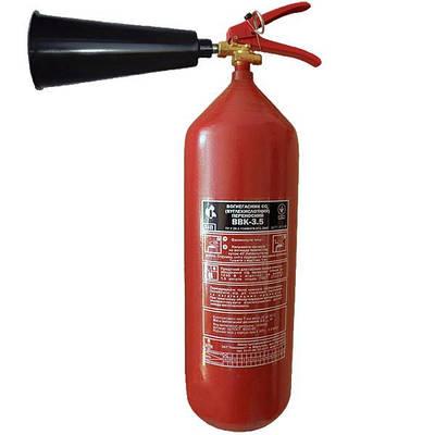 Огнетушитель углекислотный ОУ-5 (ВВК-3,5), Евросервис (000013403)