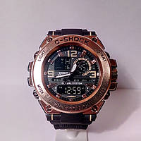 Часы Casio G-Shock Protection чер/зол.крас
