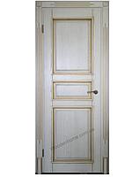Двери межкомнатные из натурального дерева (ясень) Без стекла , 2000х700мм, RALL 9010