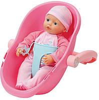 Набор с куклой MY LITTLE BABY BORN - МОЯ МИЛАЯ МАЛЫШКА (32 см, с переноской)