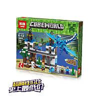 """Конструктор """"Нападение голубого дракона"""" (аналогов Lego нет) 548 деталей ТМ Lepin"""