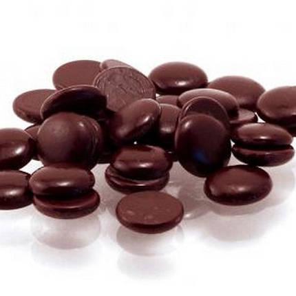 Шоколад темний Аріба диски 60 % Master Martini 10 кг, фото 2
