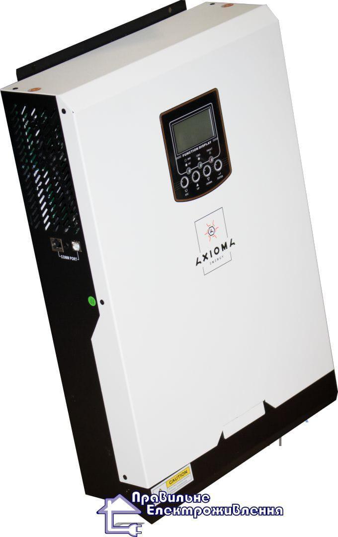 Перетворювач напруги AxiomaISMPPT-BF 5000 (5 кВт + МРРТ)