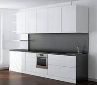 Изготовление кухни в стиле минимализм мдф-окрашенный