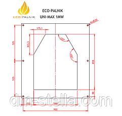 Пеллетная горелка 1000 кВт Eco-Palnik серия UNI-MAX (Польша), фото 2